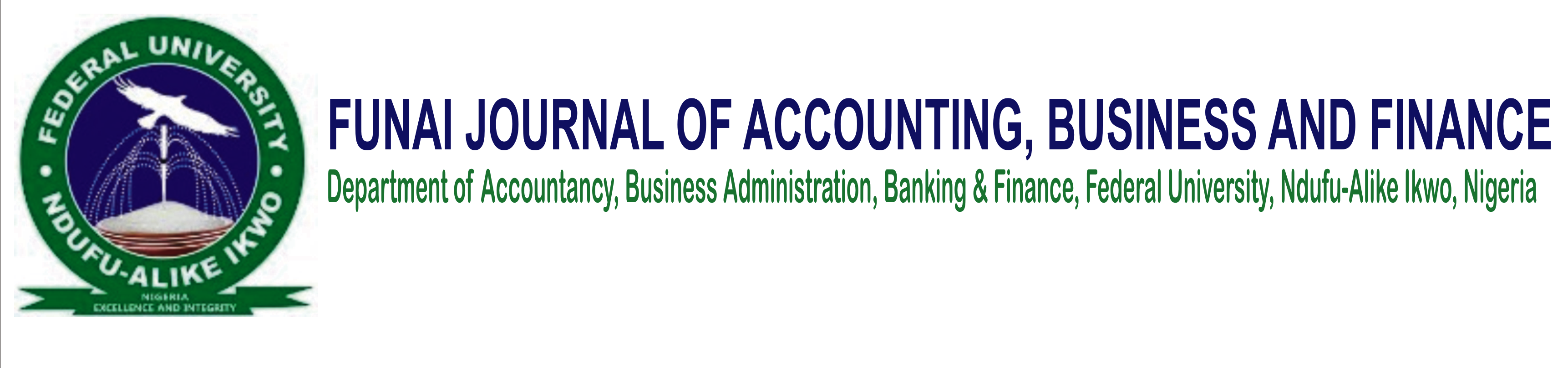 AE-Funai Journal of Accounting, Business and Finance (FUJABF)